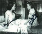 "Mary & Madeline Collinson""Twins of Evil"" Hammer star's  Genuine Signed Autograph 10x8  5719"